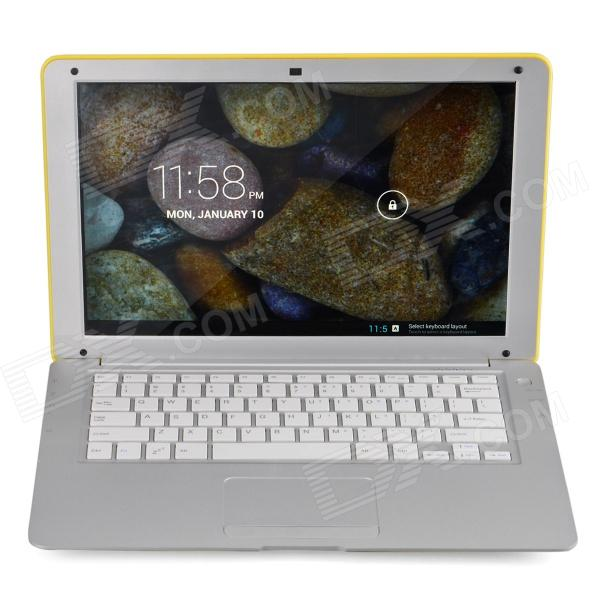 "HL-PC1388 13,3 ""-LCD-Android 4.2 Netbook w / LAN / HDMI / Bluetooth / GPS - Gelb"