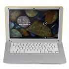 "HL-PC1388 13.3"" LCD Android 4.2 Netbook w/ LAN / HDMI / Bluetooth / GPS - Yellow"