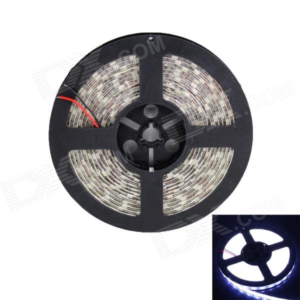 Waterproof 72W 3000lm 300 x SMD 5050 LED White Car Decoration Light Strip - (12V / 5m)