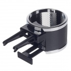 WEIFENG WF-430 Hanging Type Car Plastic Beverage Holder - Black + Silver