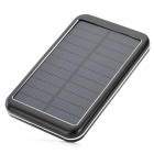 M-27 Solar Powered 8000mAh Power Bank for IPHONE / IPAD / IPOD / Cell Phone / Tablet PC - Black