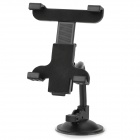 Convenient Universal 360' Rotating PC + ABS Suction Cup Car Holder for Cellphone / Tablet PC - Black