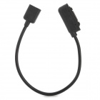 Micro USB Female Adapting Charging & Data Sync Cable for Sony XL39H / L39H - Black