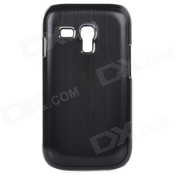 Protective Aluminum Alloy Back Case for Samsung Galaxy S3 Mini i8190 - Black