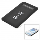 T1504 Qi Standard Wireless Transmitter Charger + Receiver for Samsung Galaxy Note 2 N7100 - Black