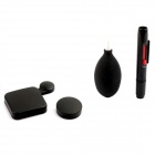 PANNOVO Professional Plastic Lens Cap + Cleaning Pen+Air Blower Tools Kit for GOPRO 3 +/4