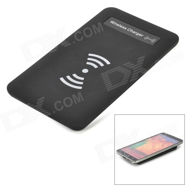 T1503 Qi Standard Wireless Transmitter Charger + Receiver Module for Samsung Galaxy S3 i9300 - Black 5v 1000ma qi wireless charger for samsung galaxy s3 mini i8190 i8160 black