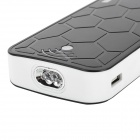 "Turtle Shell Style ""22000mAh"" Power Bank Charger w/ 2-LED Flashlight for Samsung / HTC - Black"