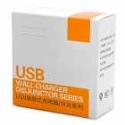 2 Port USB Wall Charger Board - White