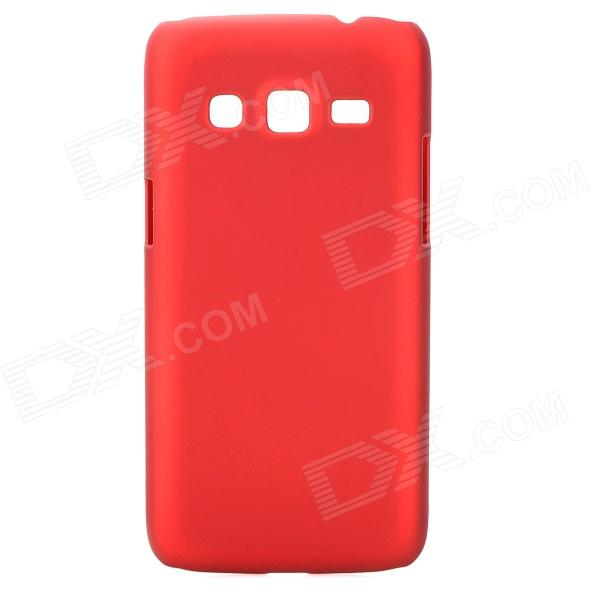 Protective Matte ABS Back Case for Samsung G3815 - Red