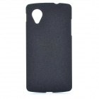 TEMEI Protective Frosted Plastic Back Case for Google Nexus 5 - Black