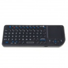 Ultra RT-UMK100-BT Mini 2.4GHz Wireless Bluetooth V2.0 70-Key Keyboard w/ Control Touchpad - Black