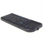 Ultra RT-UMK100-BT RF Mini 2.4GHz Bluetooth V2.0 70-Key Keyboard w/ Control Touchpad - Black