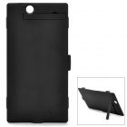 High Capacity External ''4500mAh'' Li-polymer Battery w/ Case / Stand for Sony XL39H - Black