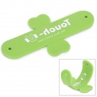 Touch-U Universal Portable Silicone Stand for IPHONE / Samsung / IPAD Series - Green