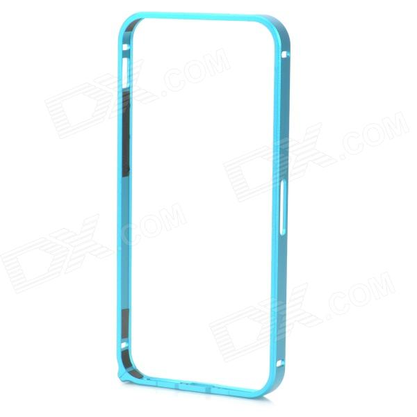 Ultra-Slim Aluminum Alloy Bumper Frame Case for IPHONE 5 / 5S - Blue ultra slim aluminum alloy bumper frame case for iphone 5 5s light blue