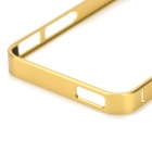 Ultra-Slim Aluminum Alloy Bumper Frame Case for IPHONE 5 / 5S - Golden