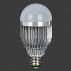 fengyangdengshi 007 E27 9W 300lm 3000K 9-LED Warm White Light Bulb - Silver (12V)
