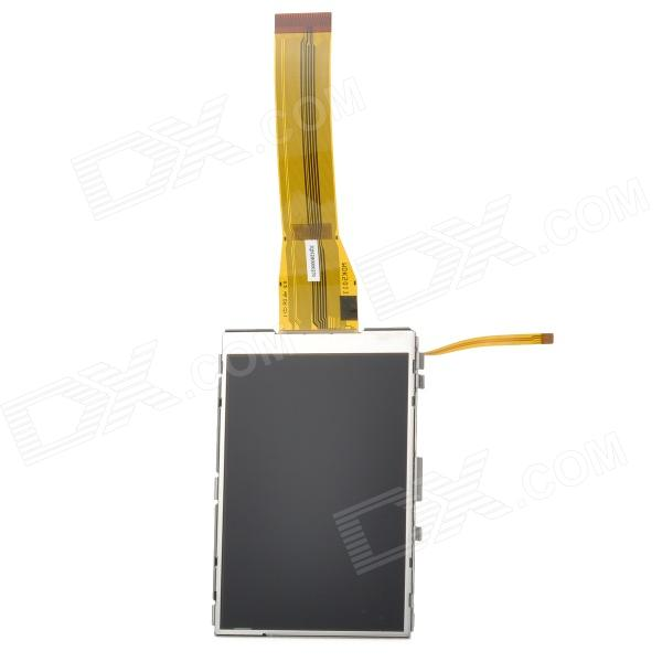 Replacement LCD 3.0 Display Screen w/ Backlight for Panasonic GF1 - Black + Silver White