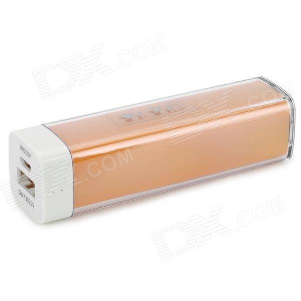 YI-YI Portable ''3300mAh'' External Power Bank + Charging/Data Cable for Sony L39h /  Xperia Z1