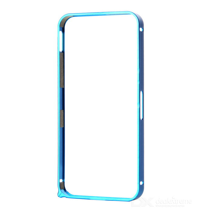 Ultra-Slim Aluminum Alloy Bumper Frame Case for IPHONE 5 / 5S - Light Blue nillkin gothic series ultra slim aluminum alloy bumper frame case for iphone 6 silver