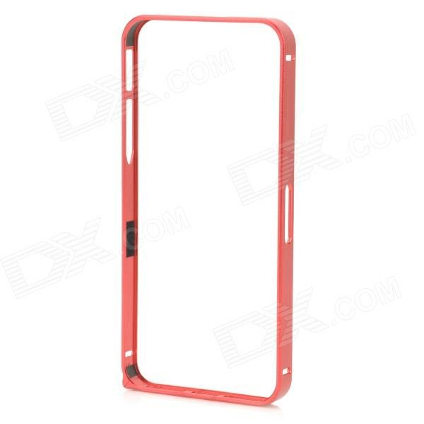 Ultra-Slim Aluminum Alloy Bumper Frame Case for IPHONE 5 / 5S - Red