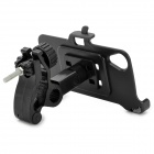 YI-YI 360 Degree Rotatable Motorcycle Plastic Stand + Bracket for LG NEXUS 5 - Black