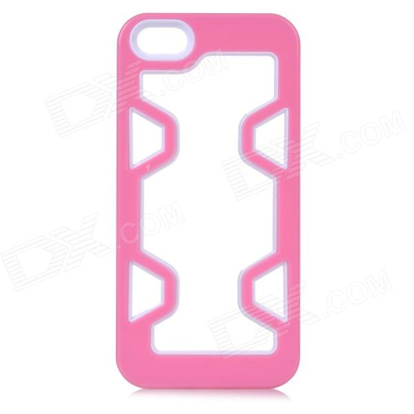 все цены на Protective Plastic Bumper Case for IPHONE 5 / 5S - Pink + White онлайн
