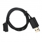 Magnetic USB Charging Cable Adapter for Sony Xperia Z Ultra XL39H - Black (100 cm)