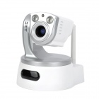 ZONEWAY 1.0MP 720P drahtlose PTZ IP-Kamera w / 3X Zoom Funktion / 2 Array Infrarot-LEDs / IR-CUT / P2P