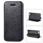 Protective PU Leather Case for IPHONE 5 / 5S - Black