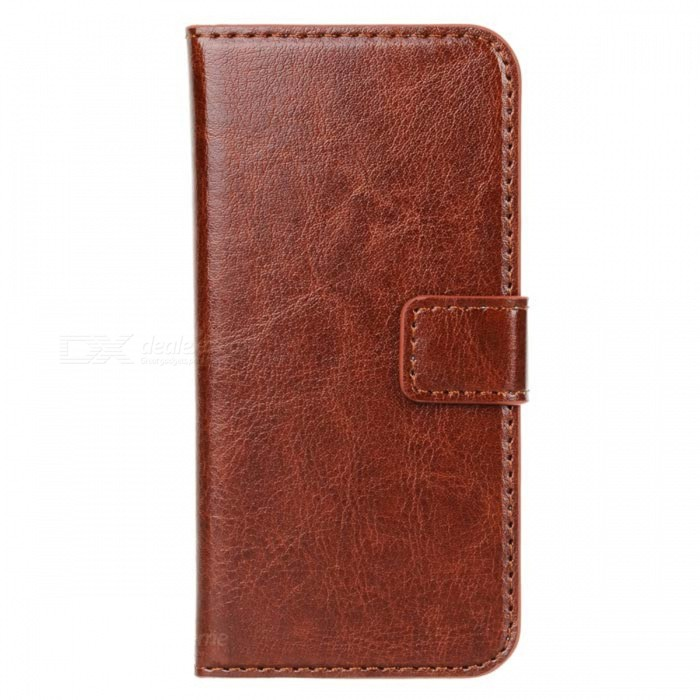 Protective PU Leather Case for IPHONE 5 / 5S - Brown