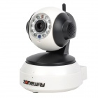 ZONEWAY Indoor 720P HD Wireless IP Camera w/ PNP / TF Card Slot / 10-IR LED - White + Black