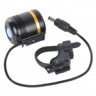 K1SU+B High Light 800LM White LED Front Torch Lamp for Bicyle - Black + Yellow