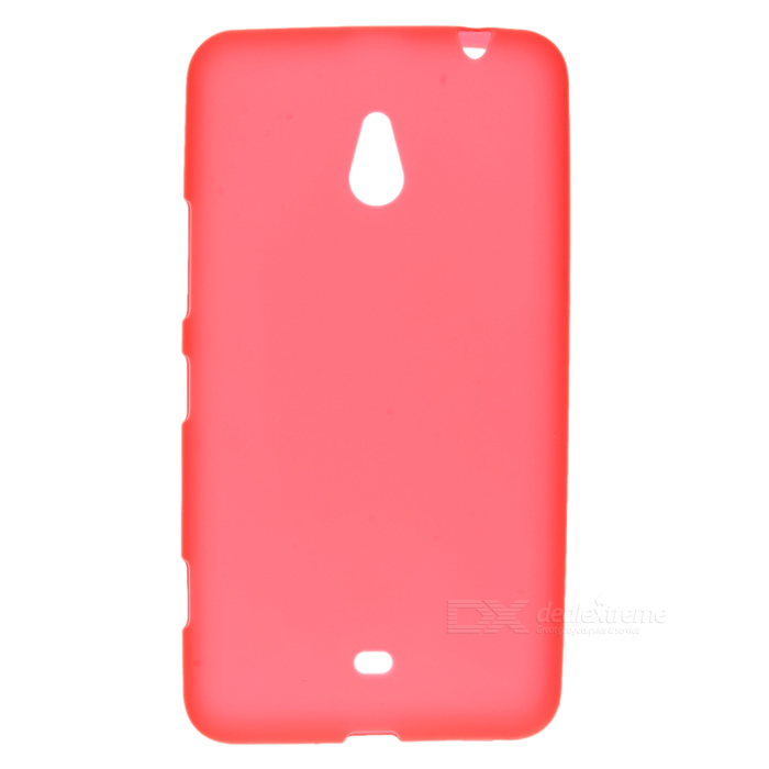 цена на LX-1320 Protective TPU Back Case for Nokia Lumia 1320 - Red