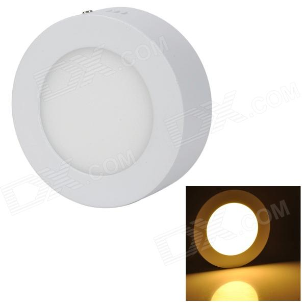 купить LSON G-6W 6W 350lm 3000K 30-2835 SMD LED Warm White Light Round Ceiling Lamp - White (85~265V) недорого