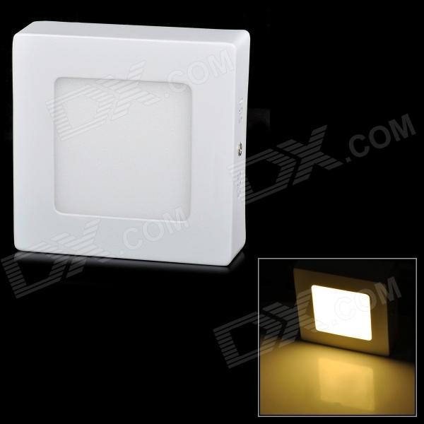 купить LSON G-6W 350lm 3000K 30-2835 SMD LED Warm White Ceiling Panel Lamp - White (AC 85~265V) недорого