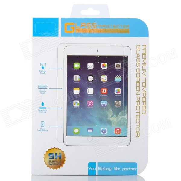 0.3mm Ultra Thin Tempered Glass Screen Guard Protector Film for iPad Mini 1 - Transparent