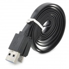 USB Male to Micro USB 3.0 B Type Male Charging & Data Sync Cable for Samsung Note 3 / N9000 - Black