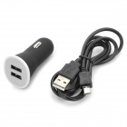 YI-YI Dual USB Car Cigarette Charger + USB Cable for Samsung Galaxy Note 10.1 2014 Edition P600
