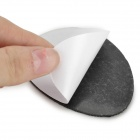 Anti-slip Rubber Sole Sticker Pad for Shoes - Black + White (2 Pairs)
