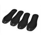 Sweat-absorbing Anti-bacteria Deodorant Bamboo Charcoal Insole - Black