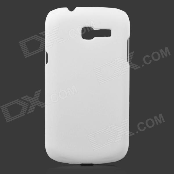 Protective Frosted ABS Back Case for Samsung Galaxy Trend Lite S7390 / S7392 - White protective frosted abs back case for samsung galaxy express i8730 white