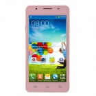 "Sosoon X50 Dual Core Android 4.2.2 WCDMA Bar Phone w/ 5.0"", Dual Camera, Wi-Fi and GPS - Pink"