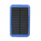 8000mAh Solar Mobile Power für iPhone iPad + More - Blau