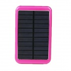 8000mAh Solar Mobile Power für iPhone iPad + More - Red