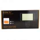 EOSCN ES120 Rechargeable 8W 500lm 5600K / 3200K Super-Thin LED Video Lamp for Camcorder / Camera