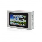 "M720 MTK6577 7"" Android 4.1 Dual-core Tablet PC w / 512MB RAM / 4GB ROM / SIM - musta + valkoinen"