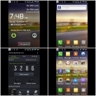 "E615(E15) SC6820 Android 4.2.2 GSM Bar Phone w/ 4.0"", FM and Wi-Fi - White + Purple"