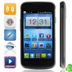 "BML D5(E21) SC6820 Android 4.2.2 GSM Bar Phone w/ 4.0"", FM and Wi-Fi - Black + Grey"